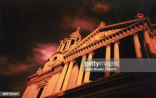 Low Angle View Of St Paul Cathedral