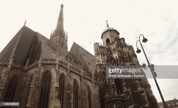 Low Angle View Of St. Stephens Cathedral, Vienna