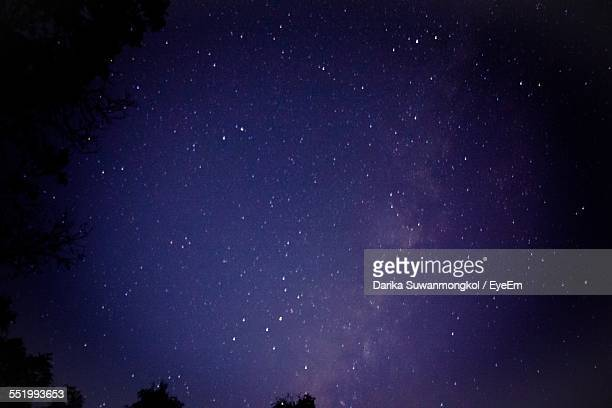 Low Angle View Of Stars On Sky
