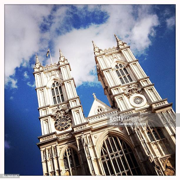 Low Angle View Of Westminster Abbey Against Sky