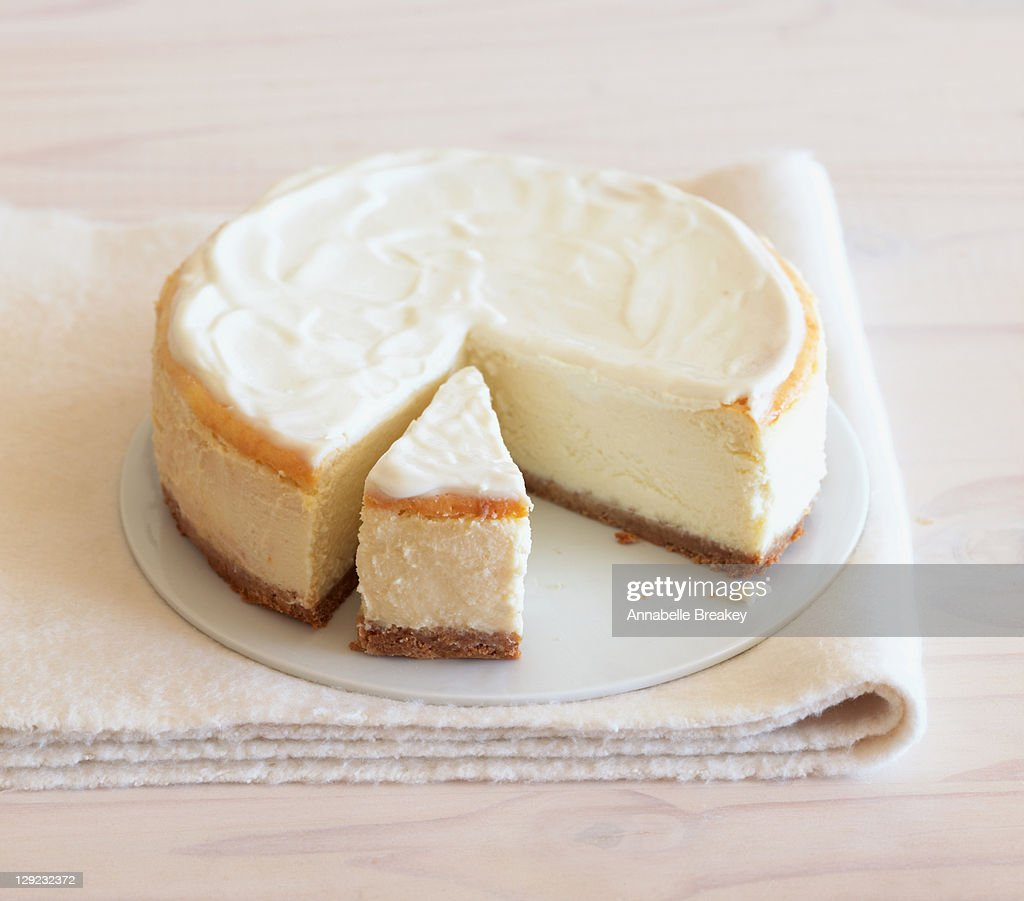 Low fat cheesecake : Stock Photo