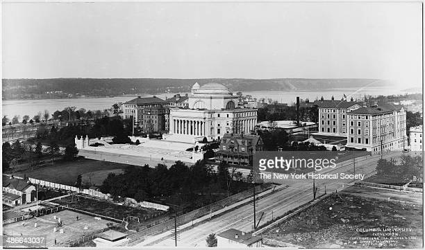 Low Library Columbia University New York New York 1898 View from the southeast