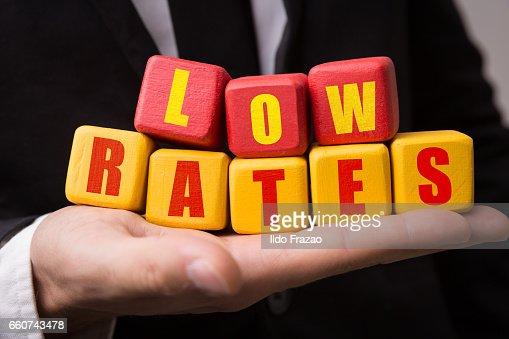 Low Rates : Stock Photo