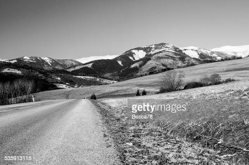 Low Tatra mountain panorama view, Slovakia : Stock Photo