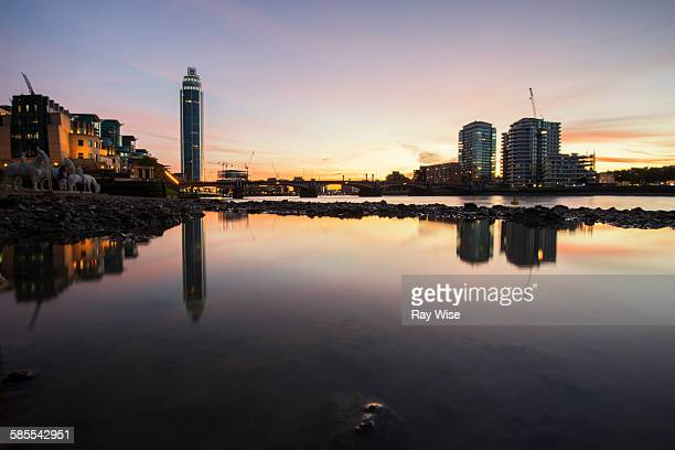 Low Tide at Vauxhall
