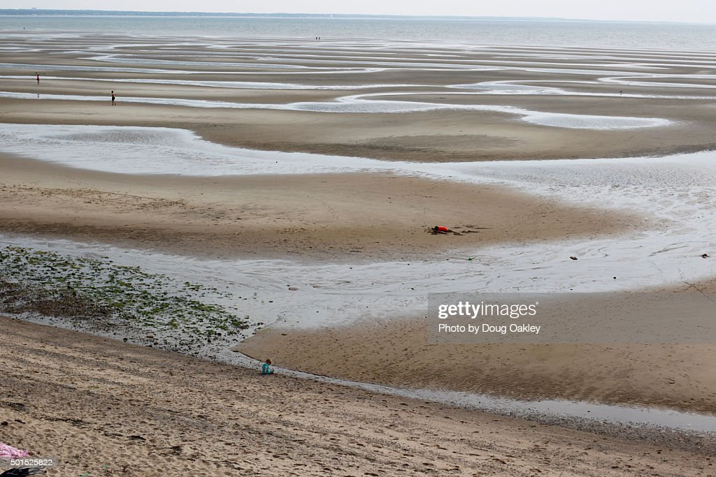 Superior Cape Cod Low Tide Part - 5: Low Tide On Beach At Cape Cod : Stock Photo
