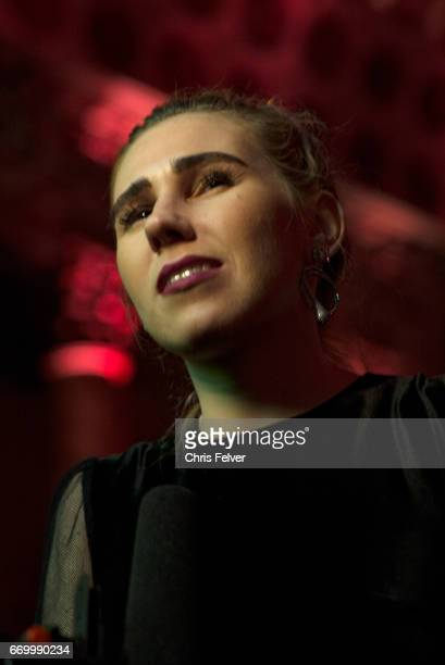 Lowangle portrait of American actress Zosia Mamet New York New York March 2 2017