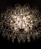 Low-Angle View Of Chandelier