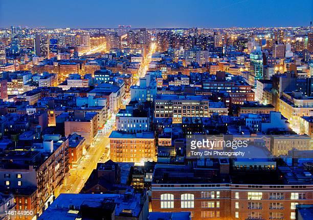 Lower Eastside and Soho of NYC