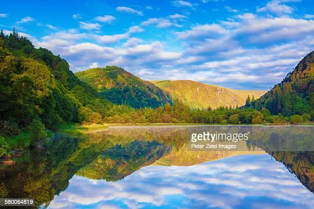 Lower lake landscape Glendalough