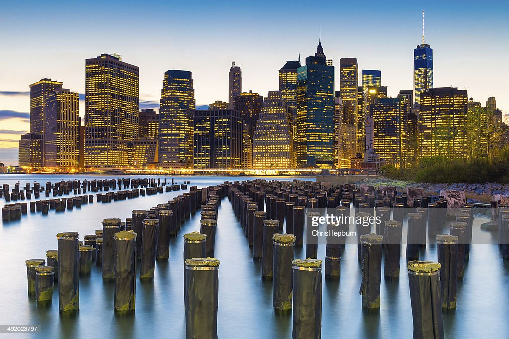 Lower Manhattan Financial District New York City Usa Stock Photo Getty Images