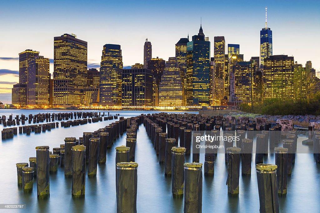 Lower Manhattan Financial District, New York City, USA