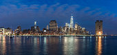 Lower Manhattan Twilight View - New York