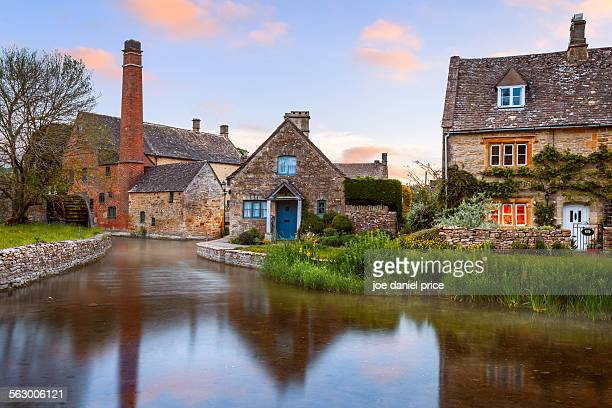 Lower Slaughter, Cotswolds, Gloucestershire, UK