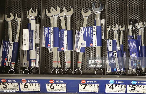 Lowe's brand Kobalt wrenches are offered for sale at Lowe's home improvement store on January 24 2013 in Chicago Illinois Lowe's said they plan to...
