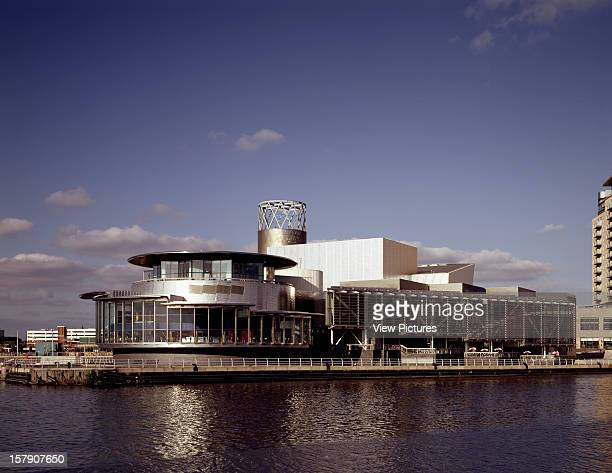 Lowry Centre Manchester United Kingdom Architect Michael Wilford And Partners Lowry Centre General View Across River