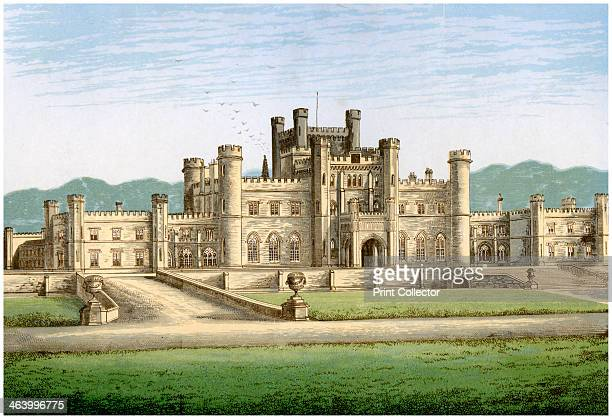 Lowther Castle Westmorland home of the Earl of Lonsdale c1880 This castellated mansion was designed by Robert Smirke and built between 1806 and 1814...