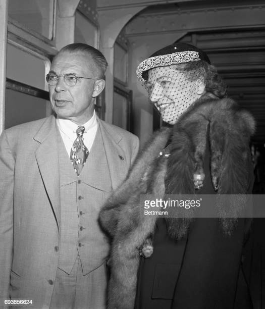 J Loy Maloney Managing Editor of the Chicago Daily Tribune and his wife