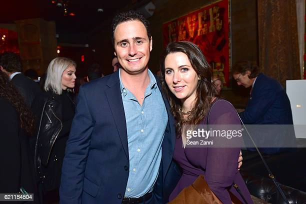 Loyal Walker and Aisling Donnelly attend Yellowstone Park Foundation Young Patrons Benefit at Avenue on November 3 2016 in New York City