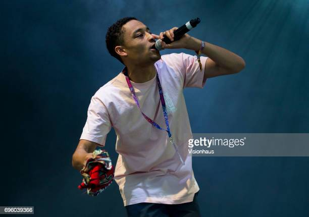 Loyle Carner performs at The Parklife Festival 2017 at Heaton Park on June 11 2017 in Manchester England