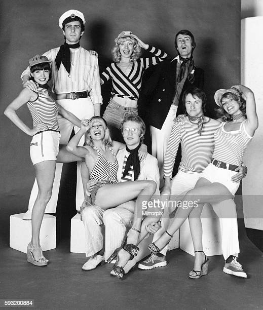 lr back row AnneMarie George Kajanus Kay Leary and Grant Serpell Front Jilly johnson Henry Marsh Phil Pickett and Linda Bran 27th April 1976