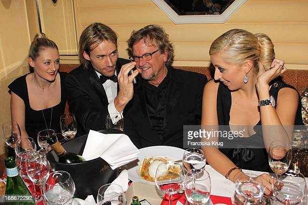 MarieTherese Müller In With Boyfriend Ex ski jumper Sven Hanna Forest Martin Krug and girlfriend Verena Kerth at 37th German Filmball at Hotel...