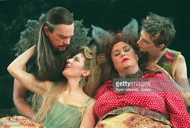 Michael Siberry as Oberon Jemma Redgrave as Titania Dawn French as Bottom and Lee Ingleby as Puck