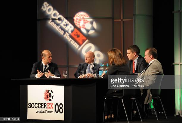 Umberto Gandini Organizing Director AC Milan Peter Kenyon CEO Chelsea FC Moderator Dan Jones Sports Business Group Deloitte Ian Ayre Commercial...