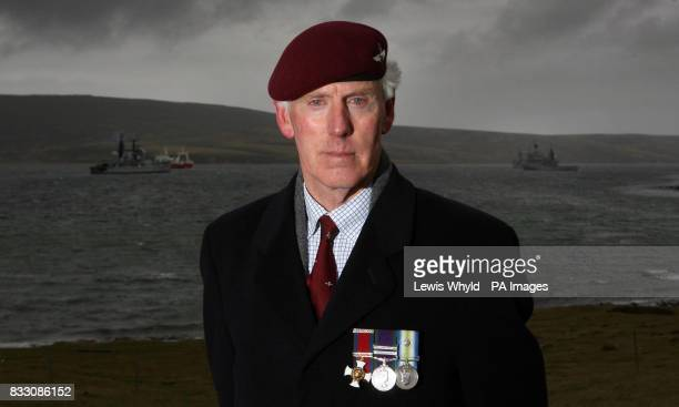 Lt Col Chris Keeble who was second in command of 2 Para at the battle of Goose Green and led his men to victory after the death VC winner Col H Jones...