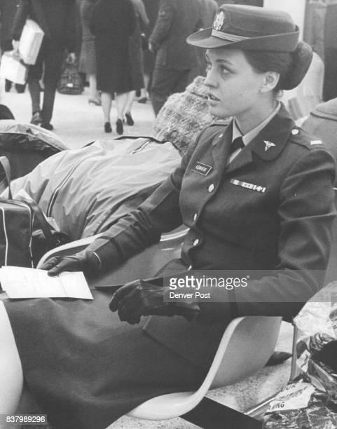 Lt Elizabeth Lemieux She's a veteran traveler Credit Denver Post