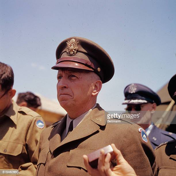 Lt General William K Harrison USA of the United Nations command the senior negotiator at Panmunjom during the Korean War