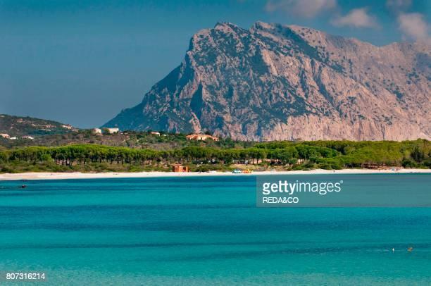 Lu Impostu beach Tavolara island San Teodoro Sardinia Italy