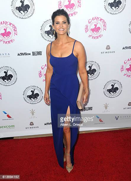 Lu Parker arrives for the 2016 Carousel Of Hope Ball held at The Beverly Hilton Hotel on October 8 2016 in Beverly Hills California