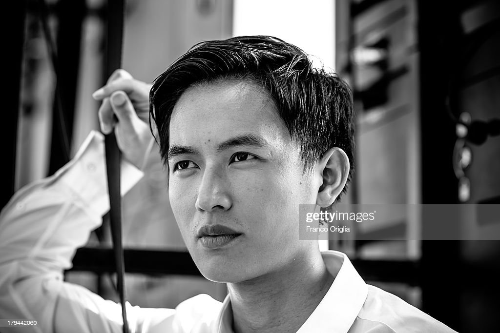 Lu Yulai attends the 'Trap Street' Portrait Session as part of the 70th Venice International Film Festival on August 31, 2013 in Venice, Italy.