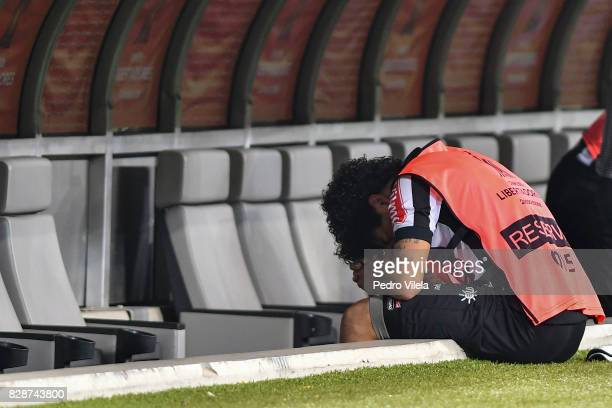 Luan of Atletico MG after the game between Atletico MG and Jorge Wilstermann as part of Copa Bridgestone Libertadores 2017 at Mineirao Stadium on...