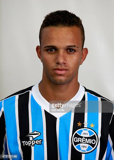 Luan of Gremio FootBall Porto Alegrense poses during a portrait session on August 14 2014 in Porto AlegreBrazil
