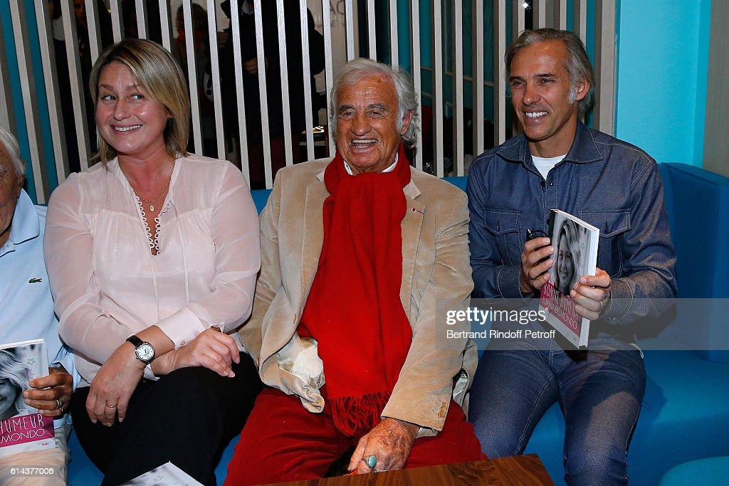 "Lunana Belmondo Presents her book ""Mes Recettes Bonne Humeur"" At Ida in Paris"
