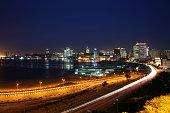 Luanda Bay by Night