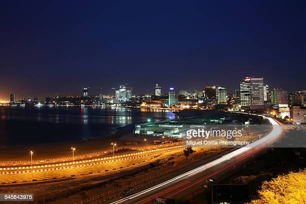 Luanda Bay by Night