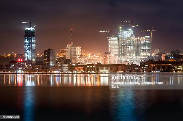 Luanda city by night
