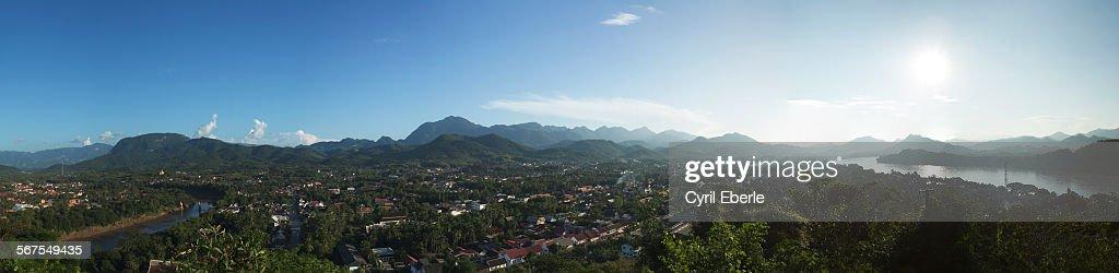 Luang Prabang Panorama : Stock Photo
