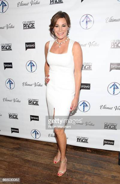 Luann D'Agostino attends 'The Real Housewives Of New York City' Season 9 Premiere Party at The Attic Rooftop Lounge on April 5 2017 in New York City
