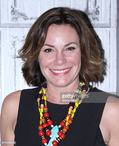 LuAnn de Lesepps appears to moderate 'Does This Make My Butt Look Big' discussion during the AOL BUILD Series at AOL HQ on October 13 2016 in New...