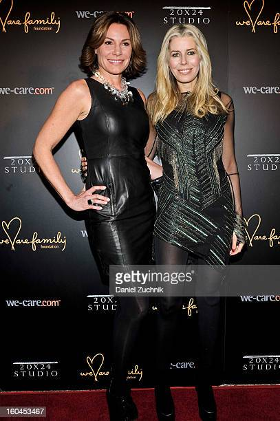 LuAnn De Lesseps and Aviva Drescher attend the 2013 We Are Family Foundation Gala at Hammerstein Ballroom on January 31 2013 in New York City