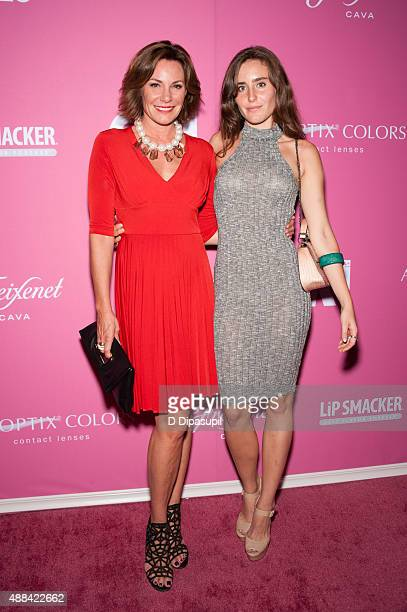LuAnn de Lesseps and daughter Victoria de Lesseps attend OK Magazine's Spring 2016 NYFW Party at HAUS Nightclub on September 15 2015 in New York City
