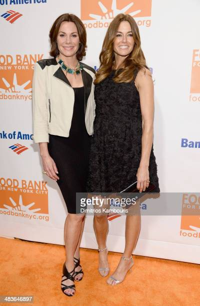 LuAnn de Lesseps and Kelly Bensimon attend the Food Bank for New York City's Can Do Awards dinner gala on April 9 2014 in New York City