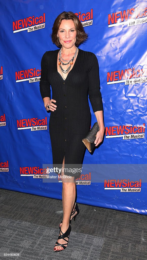 LuAnn De Lesseps attending the Opening Night Performance of Perez Hilton in 'NEWSical The Musical' at the Kirk Theatre in New York City on September...