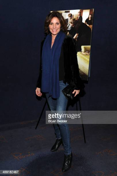 LuAnn de Lesseps attends a special screening of The Weinstein Company's AUGUST OSAGE COUNTY at Paris Theatre on December 23 2013 in New York City