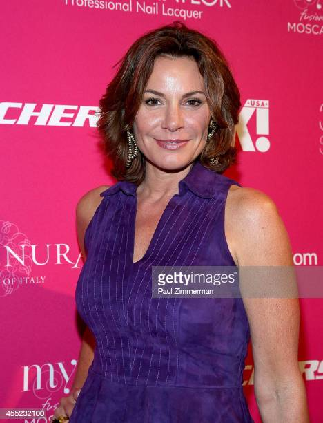 LuAnn de lesseps attends OK Magazine's 8th Annual New York Fashion Week Celebration at VIP Room NYC on September 10 2014 in New York City