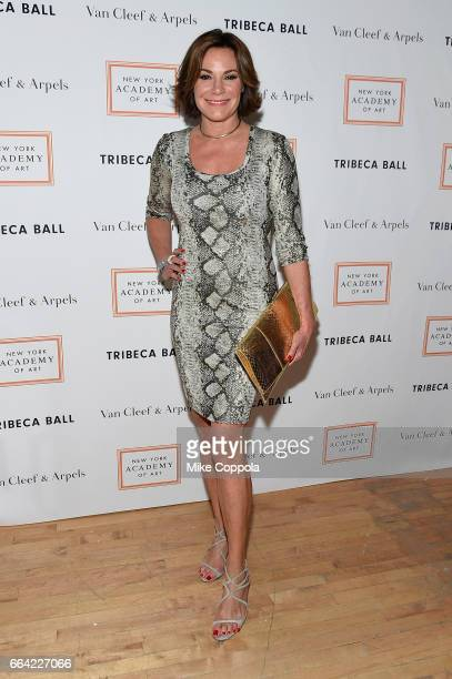 Luann de Lesseps attends the 2017 Tribeca Ball at the New York Academy of Art on April 3 2017 in New York City